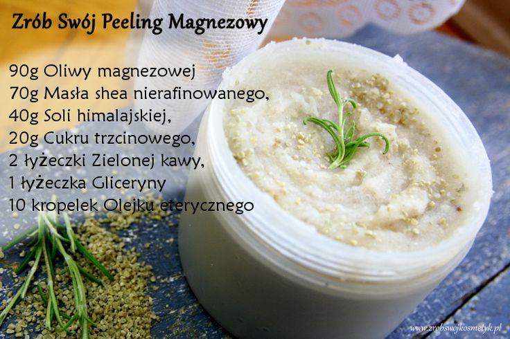 Zrób swój peeling magnezowy do ciała   Zrób Swój Kosmetyk