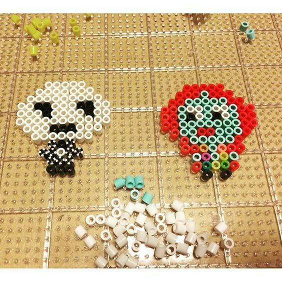 89 best Nightmare Before Christmas Perler Beads/Pixel art images ...