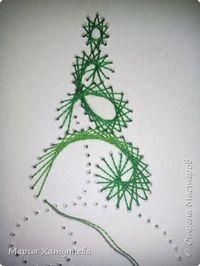 И вот она нарядная....... ))))))))))))) Попробую описать создание такой ёлочки.... фото 9