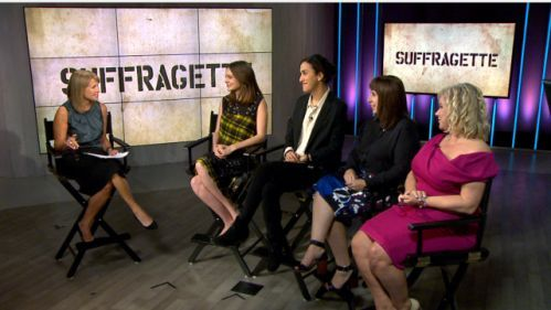 Carey Mulligan and the women behind 'Suffragette'