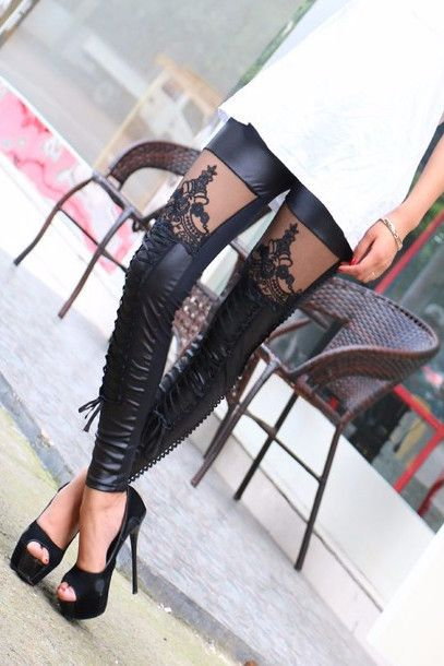 Style: Fashion Material: Polyester,Spandex Fabric Type: Mesh Waist Type: Mid Pattern Type: Solid Brand Name: Bohemian Leggings is_customized: Yes Characters: none Length: Ankle-Length Color Style: Nat