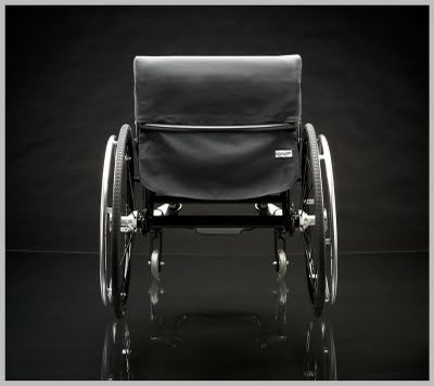 Nomad Wheelchair - fabric seat system (attic 2)