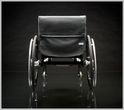 Nomad Wheelchair - fabric seat system (attic 2)