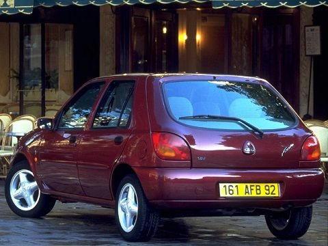Ford Fiesta Ghia 5-door (1995 – 1999). #fordfiesta #ford #cars #drive