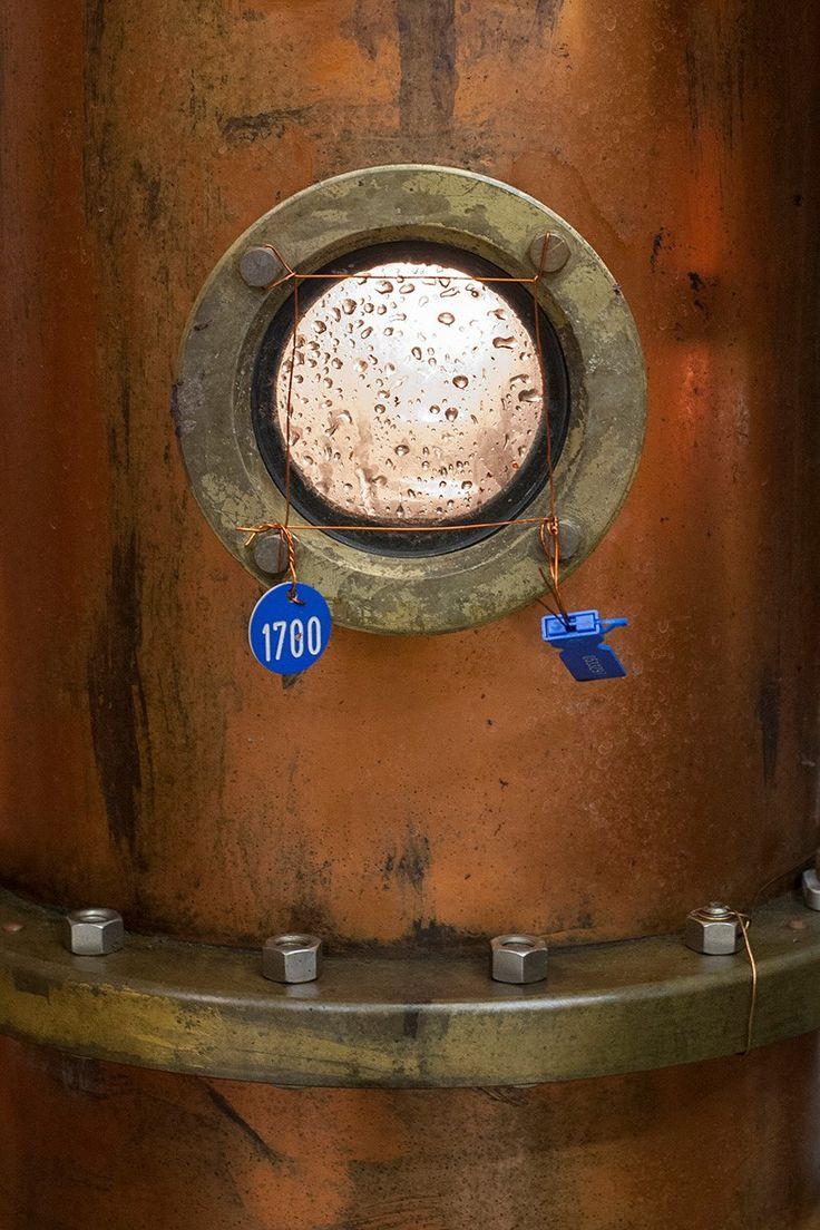 Gli ultimi attimi di distillazione...