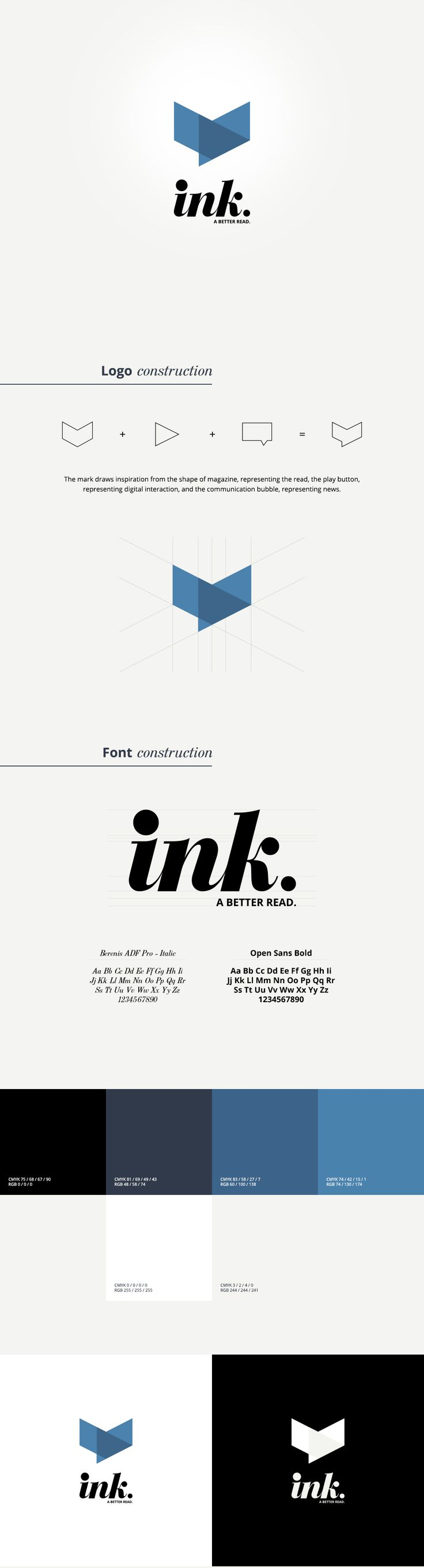 Ink on Behance