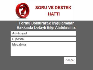 Soru Destek Hattı http://www.lazerline.com.tr/