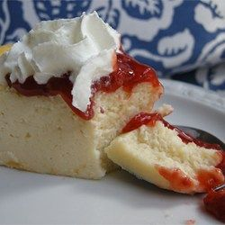 "Italian Cream Cheese and Ricotta Cheesecake  THIS IS AWESOME!!! -eavey 9"" spring-form sour cream by weight"