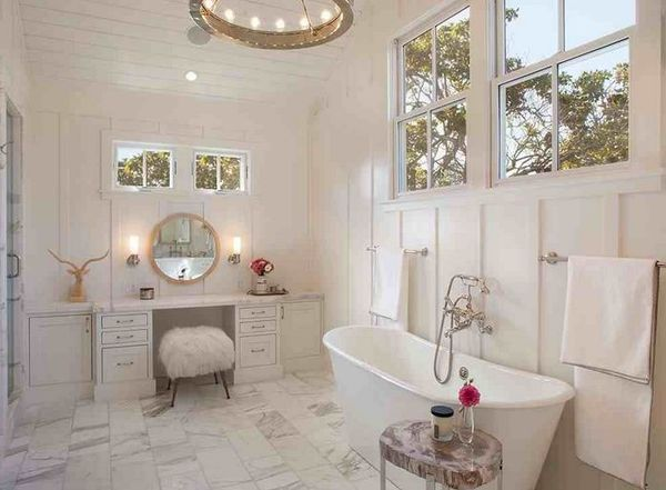 Bathroom With Makeup Vanity 204 best vanity master bedroom * images on pinterest | master