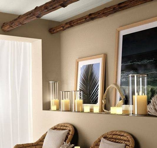 Ralph Lauren paint- Cotton Wood is my favourite paint colour for living rooms. I'd like to use it again.