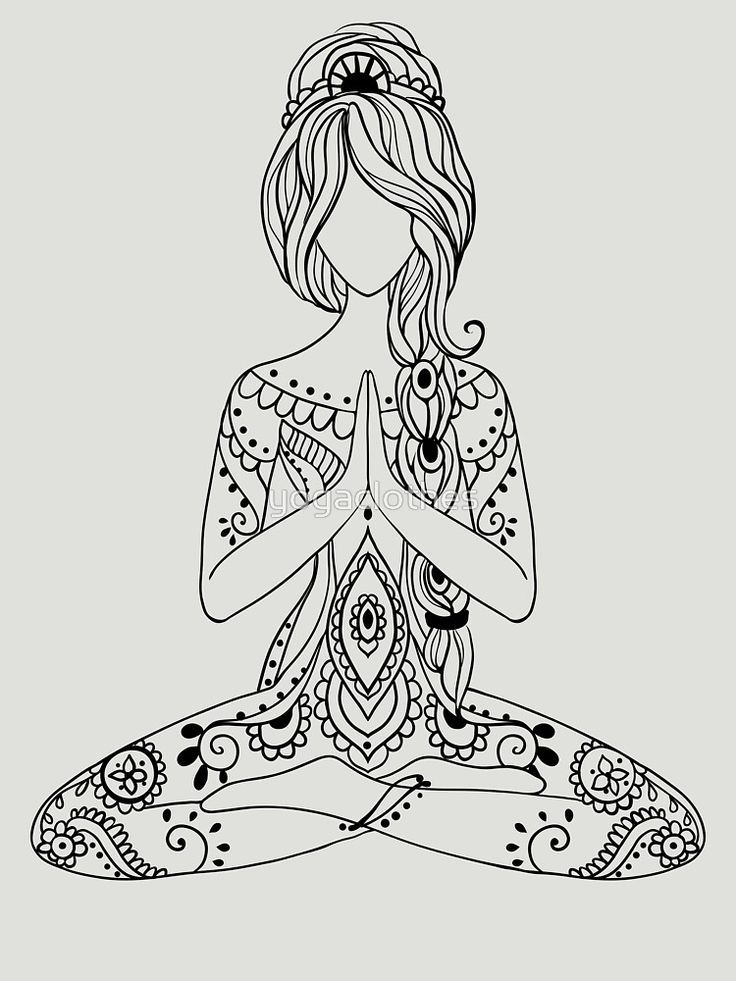 Yoga Om Chakras Mindfulness Meditation Zen 3 T Shirt By