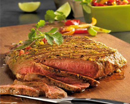 Lime and Coriander Marinated Flank Steak