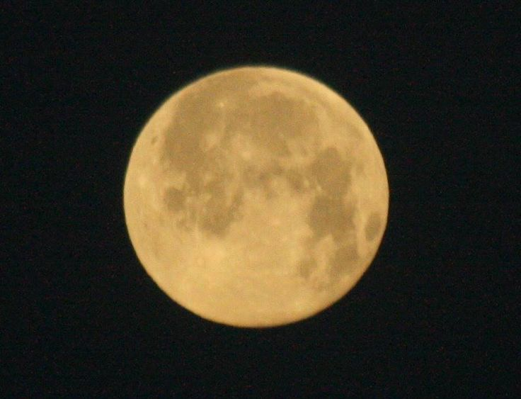 The full Moon in May is called the Full Flower Moon. Thanks for sending this in to the Almanac Todd Flink!