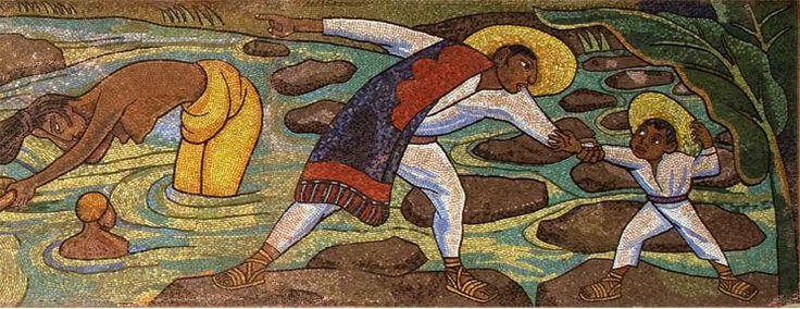 Detalle del mural rio juchit n 1956 de diego rivera for Mural de rivera