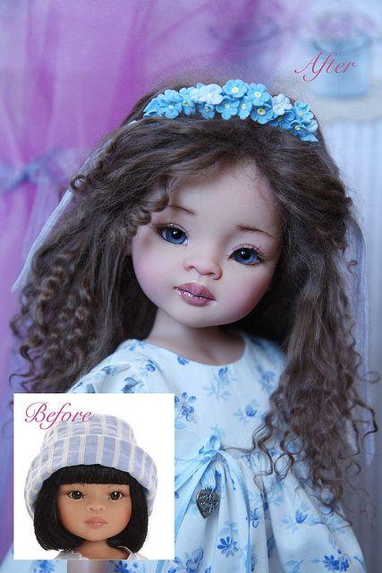 Девочка с глазами цвета моря или ООАК куклы Paola Reina / Paola Reina, Antonio Juan и другие испанские куклы / Бэйбики. Куклы фото. Одежда для кукол