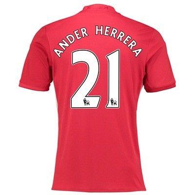 Manchester United 16-17 Ander Herrera 21 Hjemmebanetrøje Kortærmet.  http://www.fodboldsports.com/manchester-united-16-17-ander-herrera-21-hjemmebanetroje-kortermet.  #fodboldtrøjer