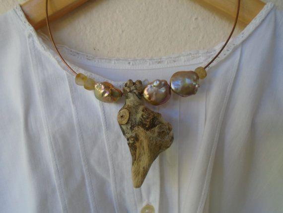 Handgemachte Halskette Charme Kreis unendlich von LamaisondeJoseph