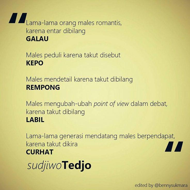 #Galau #Kepo #Rempong #Labil #Curhat istilah ini yang akan membuat remaja menjadi tidak aktif...