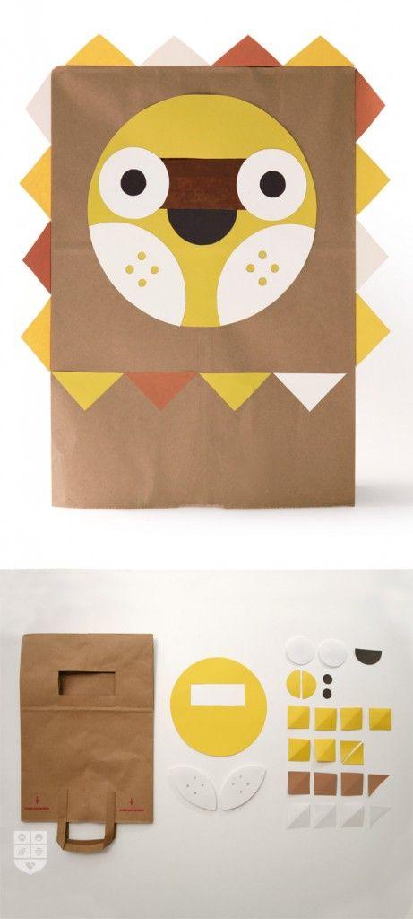 Dá para transformar papelão em bichinhos, que rendem uma tarde de brincadeira ou uma fantasia para as crianças!