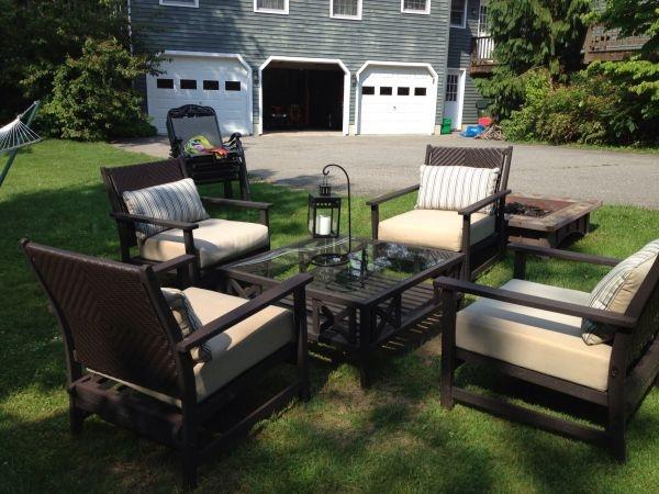 4 Seat Thomasville Lawn Furniture Set 350 Outdoor