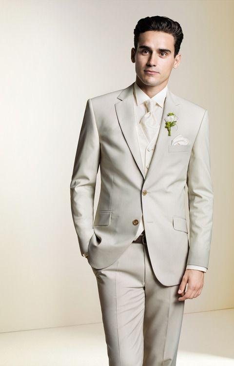 Cream Beige Suit Wedding Groomsmen Pinterest Boda Novios And Traje De Novio