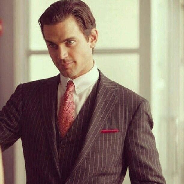 Neal Caffrey.. Man of Style Mmm..Matthew Bomer Pinterest