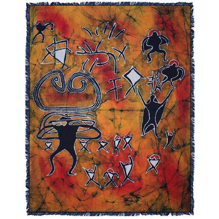 贵州少数民族工艺品苗族手工蜡染画壁挂 苍源文化(2)70x90cm-淘宝网