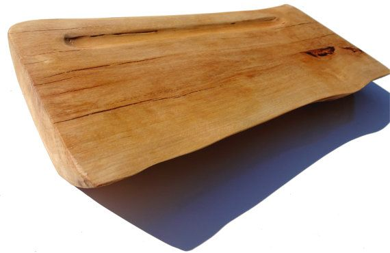 Serving / Sushi board Full cross section from Single piece of wood serving plate