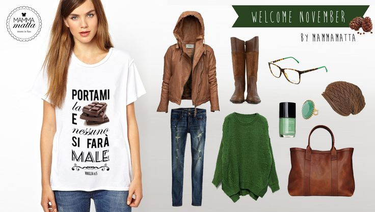Maternity outfit of the month! #green #leather #fall #november #mammamatta #pregnant #sweater #shirt