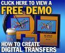 TRANSFER PAPER - IRON ON INKJET & LASER HEAT TRANSFER PAPER - FOR ALL PRINTER TYPES!