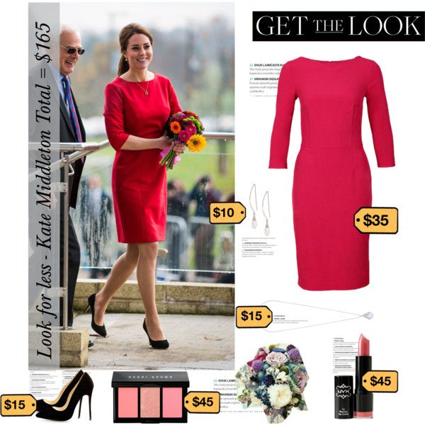 Get the look: Kate Middleton by mutiaranhlz on Polyvore featuring Miss Selfridge, Lane Bryant and Bobbi Brown Cosmetics