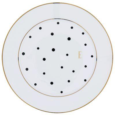 ELLE – Black Polka Dot Side Plate