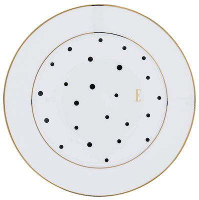 ELLE – Black Polka Dot Side Plate