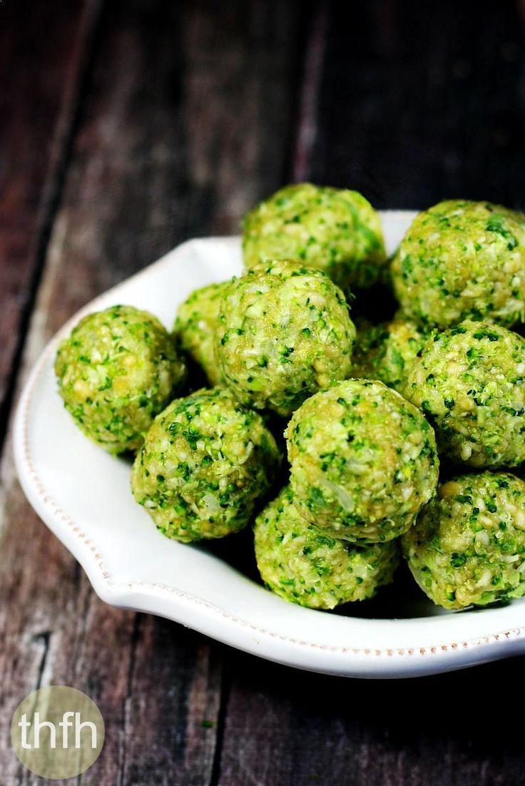 Clean Eating Raw Broccoli Balls (Raw, Vegan, Gluten-Free, Dairy-Free, Egg-Free…