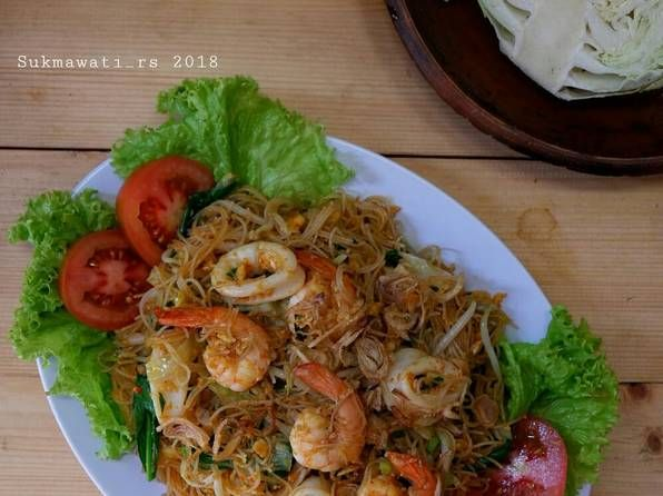 Resep Bihun Goreng Seafood Oleh Sukmawati Rs Resep Di 2020 Telur Gulung Makan Siang Resep