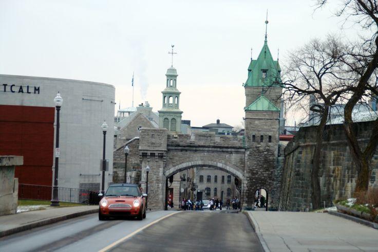 Quebec portes fortifications | Pour illustrer ces fortifications, deux portes dominent Québec dont ...