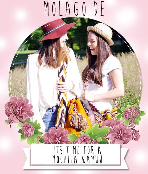 Der Frühling steht vor der Tür ! Die ersten Sonnentrahlen leuchten und eine handgemachte Mochila Wayuu Tasche darf  natürlich nicht fehlen ! Lässig - Locker - Stylish  Hol dir jetzt dein Unikat auf www.molago.de  #molago #wayuu #tasche #mochila #wayuumochila #mochilawayuu #handmade #bag #fashion #mode #bags #handbags #shoulderbag #colorful #style #mode