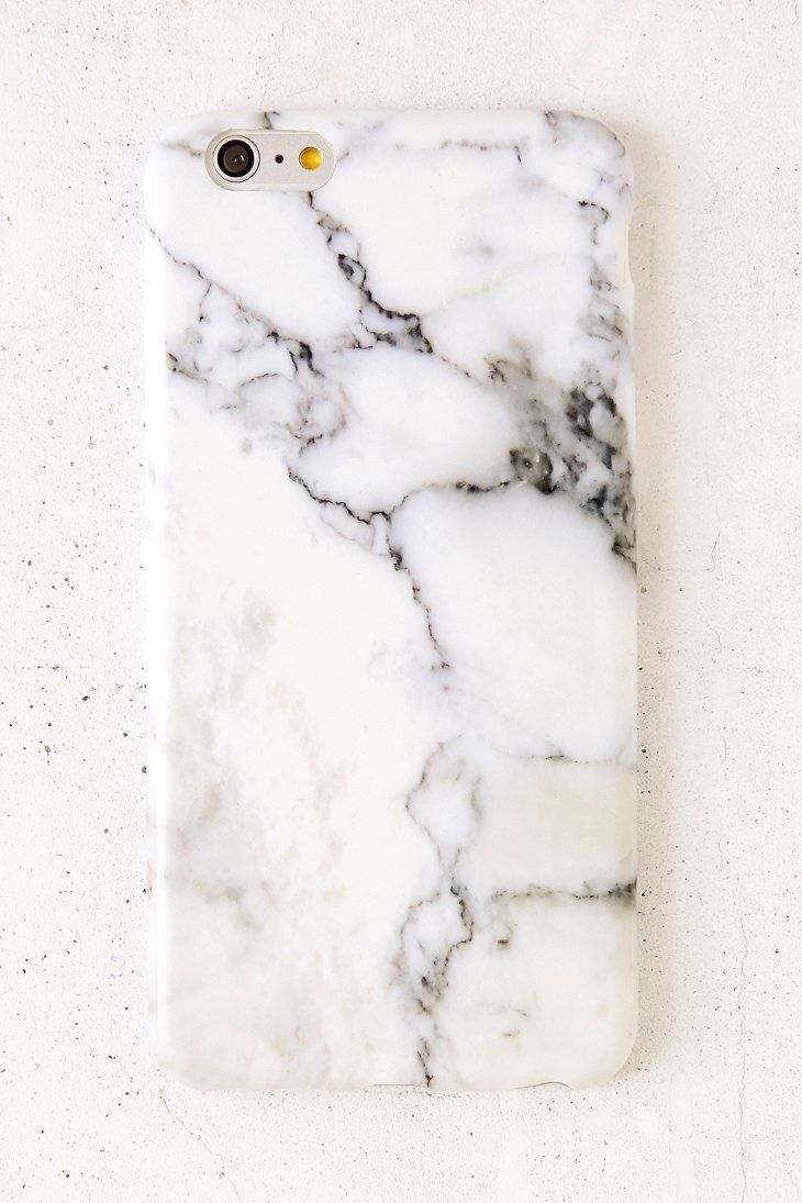 White Marble iPhone 6 Plus/6s Plus Case