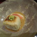 徳うち山 - 焼き胡麻豆腐