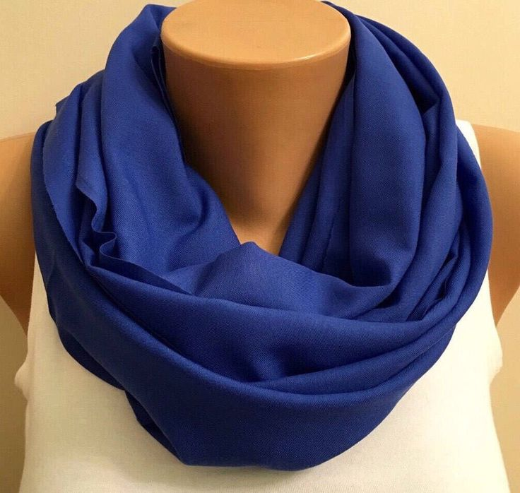 A personal favorite from my Etsy shop https://www.etsy.com/listing/258306310/light-cobalt-blue-scarves-deep-blue
