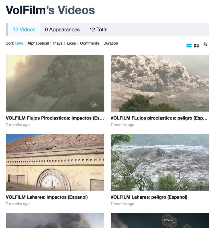 Dangerous lahars & pyroclastic flows + why they are so hazardous? - VIDEOS The videos here have been recommended by volcanologists. VolFilm comprises volcanologists from a number of institutions within GVM working with Aspect Film and Video to develop multilingual and multi-platform films for resilience to risks from volcanic hazards in areas with no experience of volcanic eruptions in living memory.