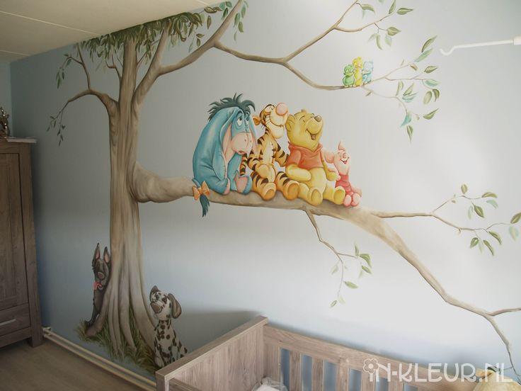 Ideeen Voor Muur Babykamer : ... Pinterest - Muurschilderingen, Boom ...
