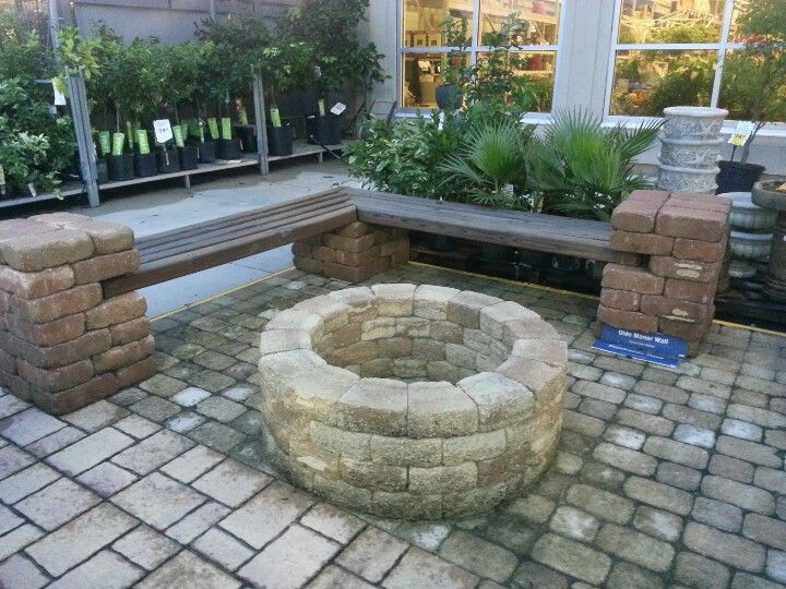 backyard firepit and sitting area for our new home pinterest