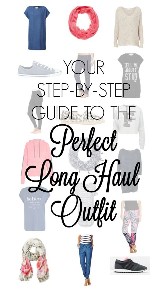 Your step-by-step guide to the perfect long haul outfit. Spending upwards of 8 hours sitting in a plane poses some unique challenges. Comfort is definitely first and foremost, but a girl's got to maintain her standards. Combining comfort and style is the key.