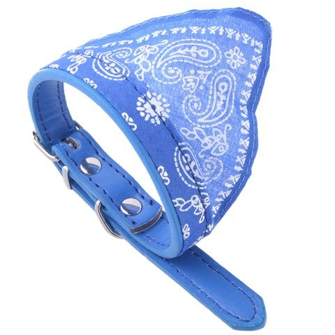 Small Adjustable Cute Pet Scarf for Dog (Blue)