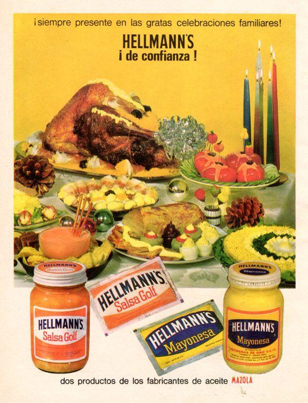 Publicidad Mayonesa Hellmann's  década del '60