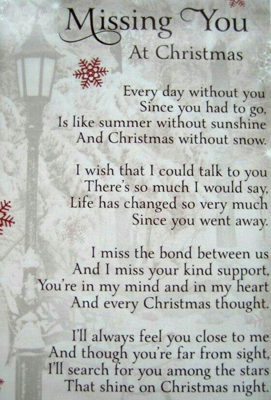 """♡☆ """"Missing you at Christmas!"""" ☆♡"""