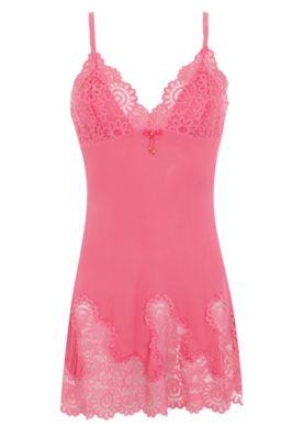 Camisola Recco Alças Rendado Rosa - Compre Agora | Dafiti