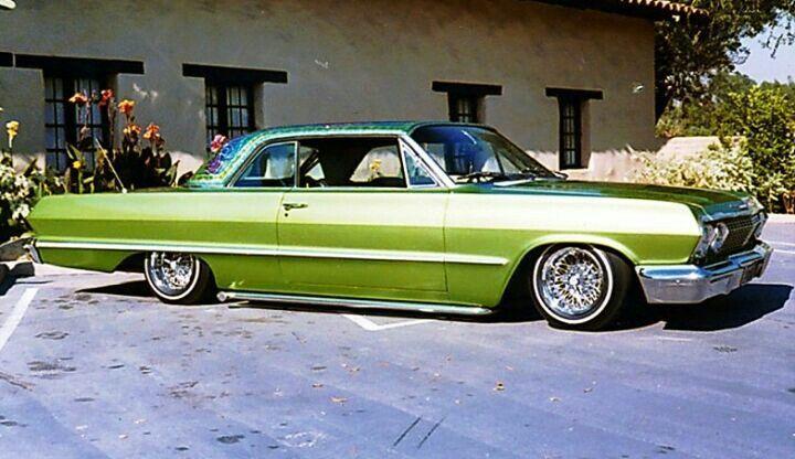 Old School Impala Lowrider