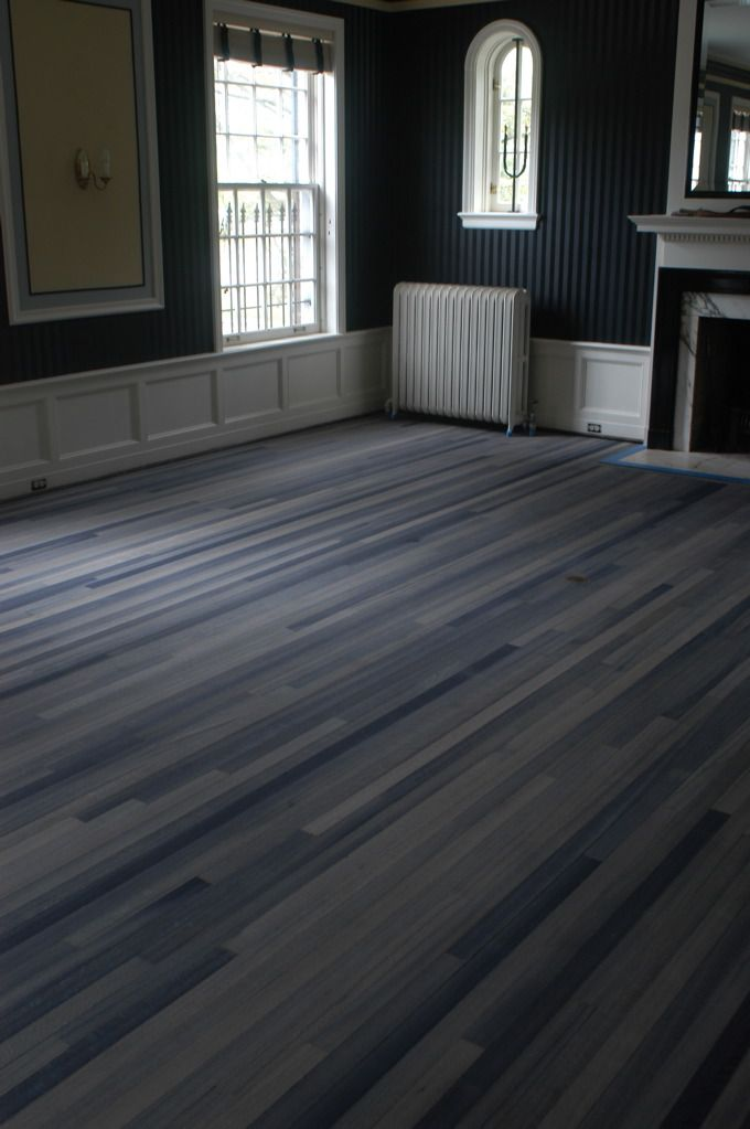 Refinished By Chris Grohs, These Plain Old Wood Floors Were Transformed  Into Fantastically Detailed